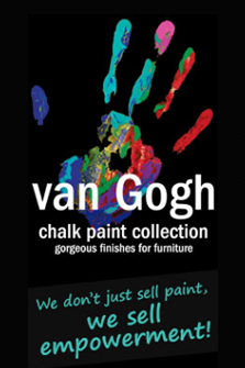 van gogh chalk paint at deros interiors in clemmons nc